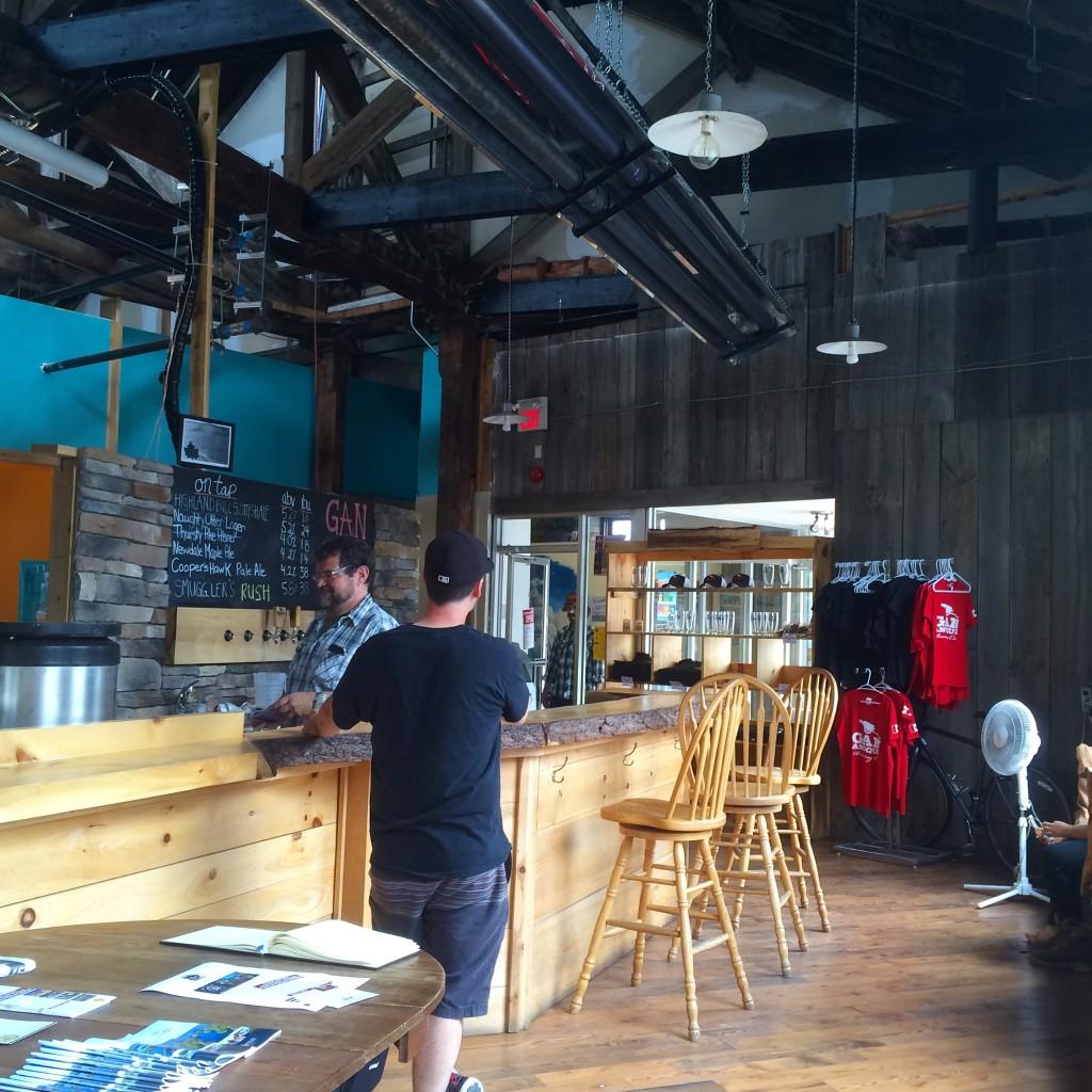 雰囲気のいいビールのお店